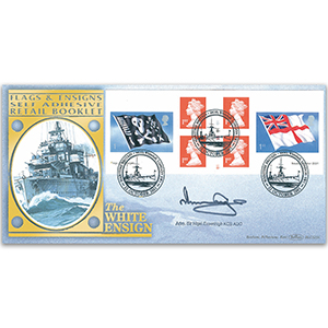 2001 Flags & Ensigns Retail Booklet BLCS 5000 - Signed by Admiral Sir Nigel Essenhigh KCB