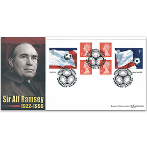 2002 World Cup Retail Booklet: Sir Alf Ramsey BLCS 5000