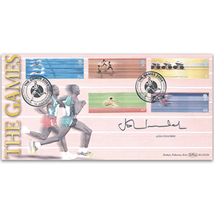 2002 Commonwealth Games BLCS 2500 - Signed by John Inverdale