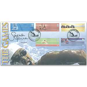 2002 Commonwealth Games BLCS 5000 - Signed by Sarah Price