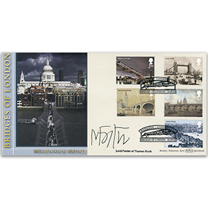 2002 Bridges of London BLCS - Signed by Lord Foster