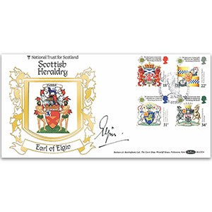 1987 Scottish Heraldry BLCS - Signed by the Earl of Elgin