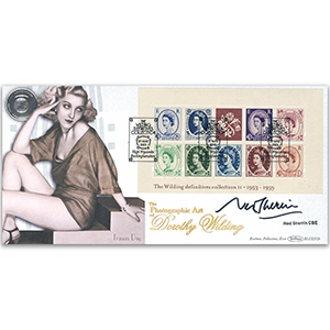 2003 Wilding Definitives M/S BLCS 2500 - Signed by Ned Sherrin CBE