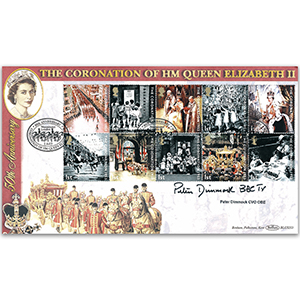 2003 Coronation 50th BLCS 5000 - Signed by Peter Dimmock CVO