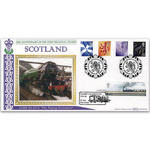 2003 Scotland Regional Definitives BLCS 2500 - Doubled 2005 Classic Locomotives