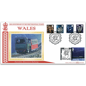 2003 Wales Regional Definitives BLCS 2500 - Doubled 2004