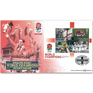2003 England Rugby World Champions M/S BLCS 5000