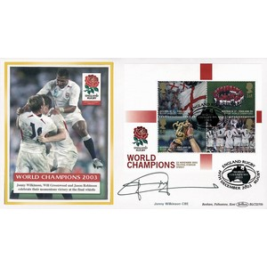 2003 Rugby World Champions M/S BLCS 2500 - Signed by Jonny Wilkinson CBE