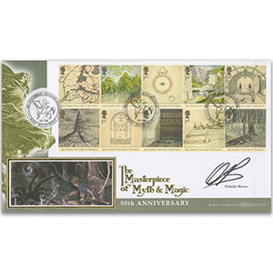 2004 Lord of the Rings BLCS 2500 - Signed by Orlando Bloom