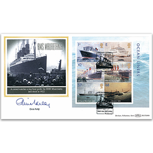 2004 Ocean Liners M/S BLCS 2500 - Signed by Chris Kelly