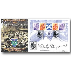 2004 Scottish Parliament BLCS 5000 Signed Nicola Sturgeon