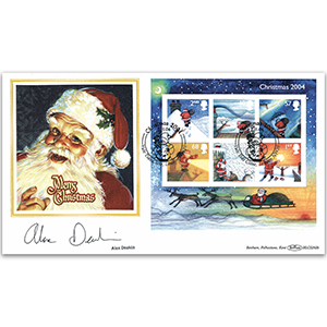 2004 Christmas M/S BLCS - Signed by Alex Deakin