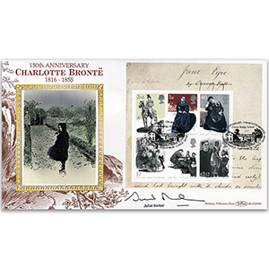 2005 Charlotte Bronte 150th Death Anniversary BLCS 2500 - Signed by Juliet Barker