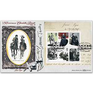 2005 Charlotte Bronte 150th Death Anniversary BLCS 5000 - Signed by Gemma Jones