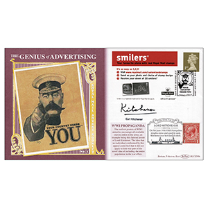 2005 Royal Mail Advert BLCS 2500 - Signed by Earl Kitchener