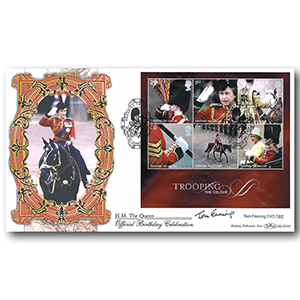 2005 Trooping Colour M/S BLCS 5000 - Signed by Tom Fleming CVO OBE