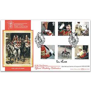 2005 Trooping the Colour BLCS 2500 - Signed by General the Lord Guthrie