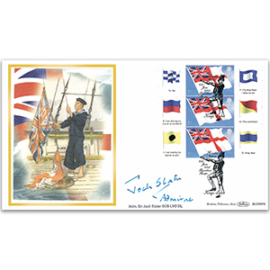 2005 White Ensign Smilers Sheet BLCS 2500 - Signed by Admiral Sir Jock Slater GCB