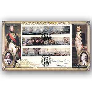 2005 Trafalgar 200th BLCS 5000 - Signed by Christopher Lee
