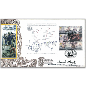 2005 Trafalgar Bicentenary BLCS 2500 - Signed by Vice Admiral Sir James Burnell-Nugent