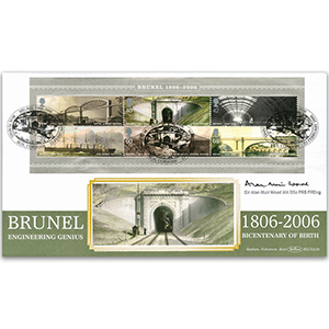 2006 Brunel M/S BLCS 2500 - Signed by Sir Alan Muir Wood