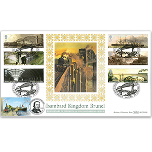 2006 Brunel Stamps BLCS 2500 - Doubled