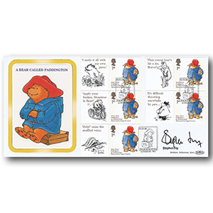 2006 Paddington Bear Smilers BLCS 5000 - Signed by Stephen Fry
