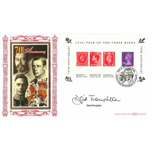 2006 Year of Three Kings M/S BLCS 2500 - Signed by David Troughton