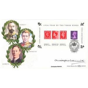 2006 Year of the Three Kings M/S BLCS 5000 - Signed by Christopher Warwick