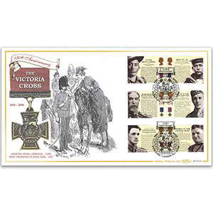 2006 Victoria Cross 150th Stamps BLCS 5000