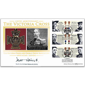 2006 Victoria Cross 150th BLCS 2500 - Signed by Sir Tasker Watkins VC