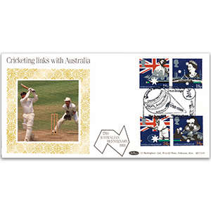 1988 Australian Settlement Bicentenary BLCS - Cricketing Links with Australia