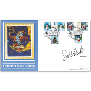 2006 Christmas Stamps BLCS 2500 - Signed by Susie Blake