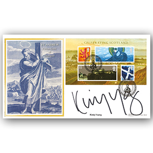 2006 Celebrating Scotland M/S BLCS 5000 - Signed by Kirsty Young