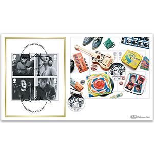 2007 Beatles M/S BLCS 2500 - Doubled 2021 Paul McCartney M/S