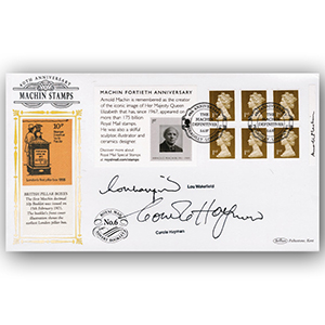 2007 Machin Definitives Retail Booklet BLCS 5000 - Signed by L. Wakefield and C. Hayman