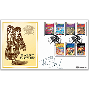 2007 Harry Potter BLCS 5000 - Signed by Fiona Shaw