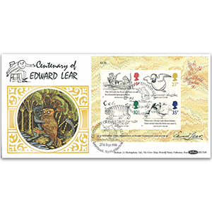 1988 Centenary of Edward Lear M/S BLCS - Learmouth