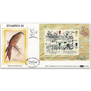 1988 Centenary of Edward Lear M/S BLCS - Stampex
