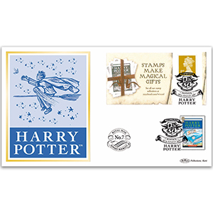 2007 Harry Potter Royal Mail Advert Booklet No. 7 BLCS 5000