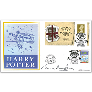 2007 Harry Potter Retail Booklet BLCS 5000 - Signed Tony Maudsley