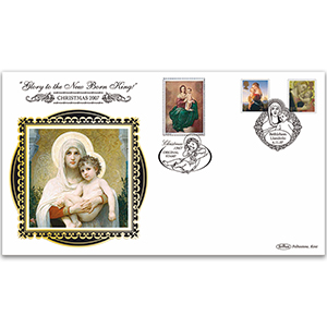 2007 Christmas Madonna Stamps BLCS 5000 - Doubled