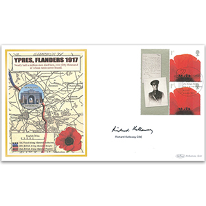 2007 'Letters From the Front' Smilers Sheet BLCS 5000 - Signed by Richard Kellaway CBE