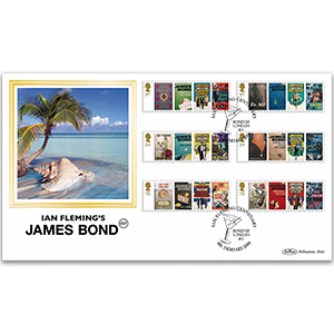 2008 James Bond Stamps BLCS 2500