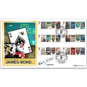 2008 James Bond BLCS 5000 - Signed by Shirley Eaton
