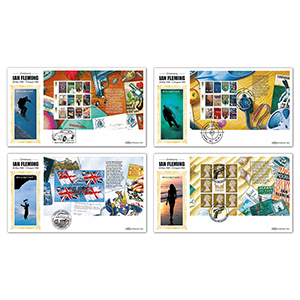 2008 James Bond P.S.B. BLCS Set of 4