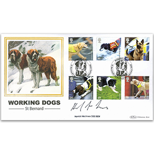 2008 Working Dogs BLCS 2500 - Signed by Hamish MacInnes