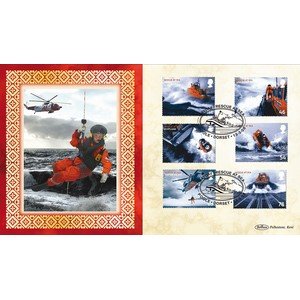 2008 SOS Rescue At Sea Stamps BLCS 5000