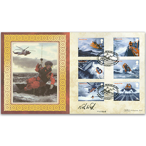 2008 Rescue at Sea Stamps BLCS 5000 - Signed Nick Ward