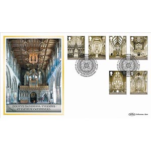 2008 Cathedrals Stamps BLCS 2500